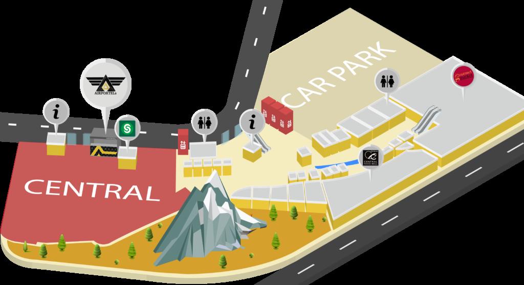 에어포텔(AIRPORTELs) 센트럴 푸켓 플로리스 지도